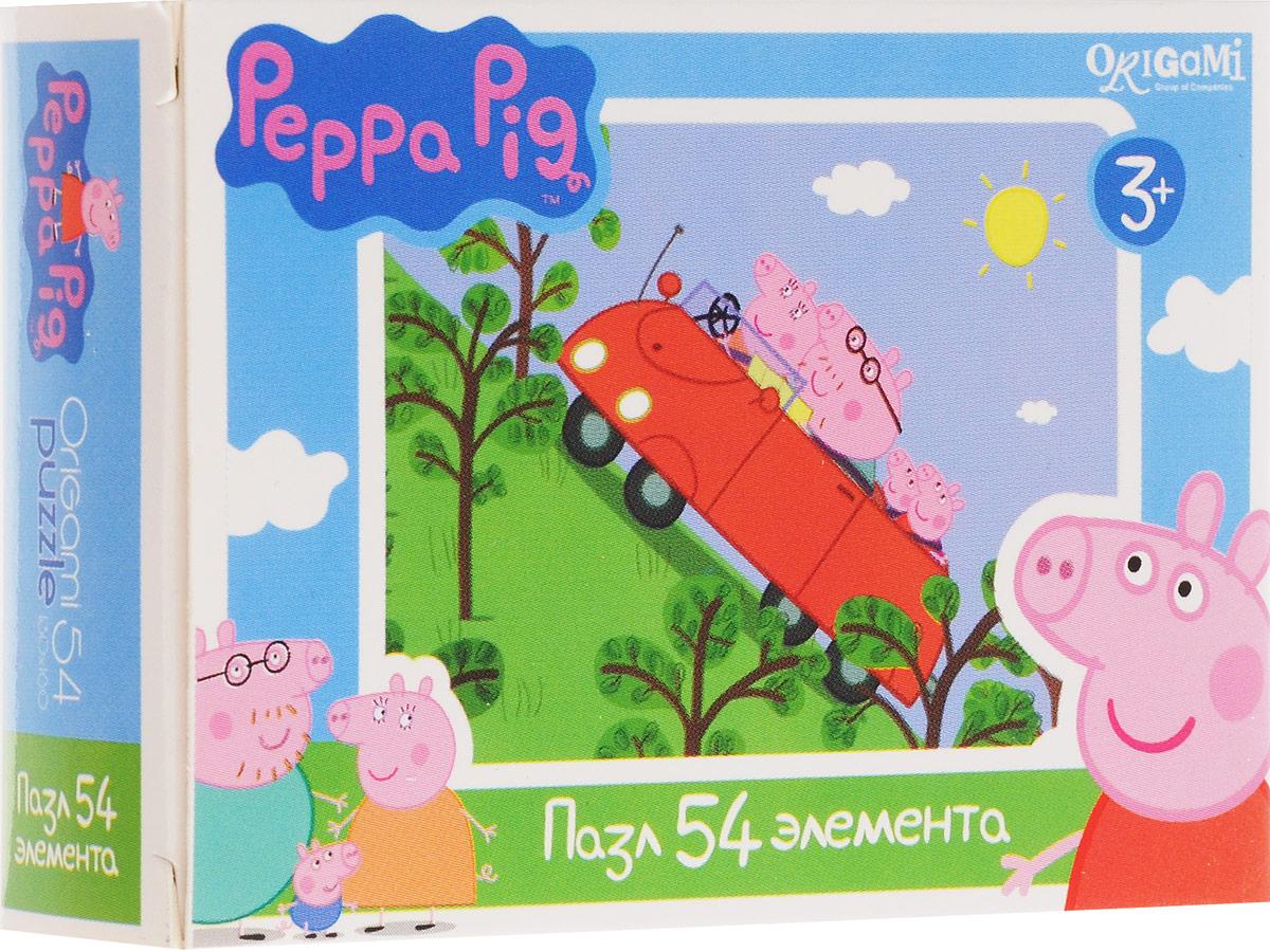 Оригами Пазл для малышей Peppa Pig Машина1595_машина, 01595Пазл для малышей Оригами Peppa Pig. Машина придется по душе всем юным поклонникам свинки Пеппы. Собрав этот пазл, включающий в себя 54 элемента, вы получите картинку с изображением сюжета из популярного мультфильма. Пазл - великолепная игра для семейного досуга. Сегодня собирание пазлов стало особенно популярным, главным образом, благодаря своей многообразной тематике, способной удовлетворить самый взыскательный вкус. А для детей это не только интересно, но и полезно. Собирание пазла развивает мелкую моторику у ребенка, тренирует наблюдательность, логическое мышление, знакомит с окружающим миром, с цветом и разнообразными формами.