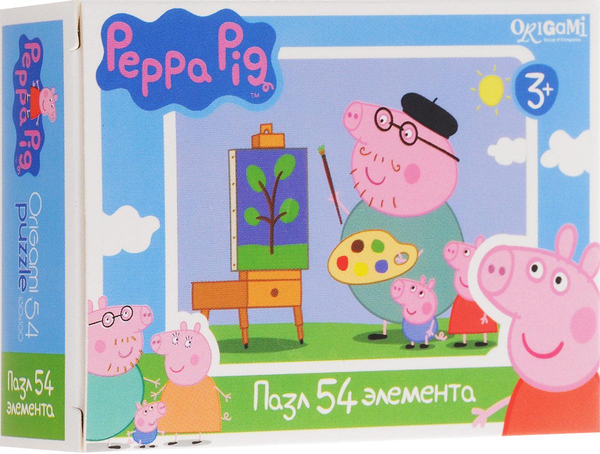 Оригами Пазл для малышей Peppa Pig Художник1595_художникПазл для малышей Оригами Peppa Pig. Художник придется по душе всем юным поклонникам свинки Пеппы. Собрав этот пазл, включающий в себя 54 элемента, вы получите картинку с изображением сюжета из популярного мультфильма. Пазл - великолепная игра для семейного досуга. Сегодня собирание пазлов стало особенно популярным, главным образом, благодаря своей многообразной тематике, способной удовлетворить самый взыскательный вкус. А для детей это не только интересно, но и полезно. Собирание пазла развивает мелкую моторику у ребенка, тренирует наблюдательность, логическое мышление, знакомит с окружающим миром, с цветом и разнообразными формами.