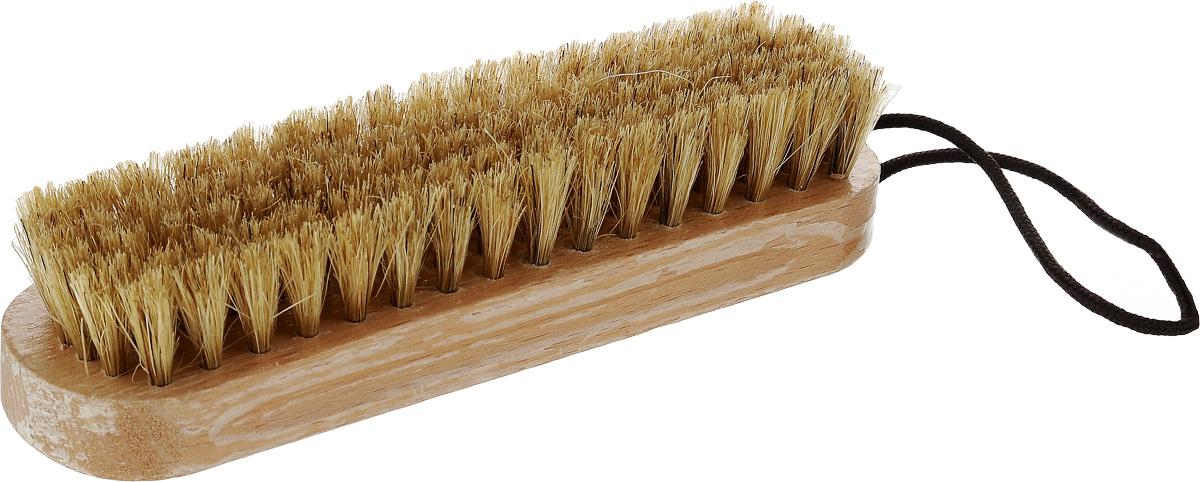 Щетка для придания блеска обуви Kiwi632106Щетка Kiwi предназначена для придания блеска обуви. Идеально полирует кожаную обувь после нанесения крема. Ручка выполнена из дерева.