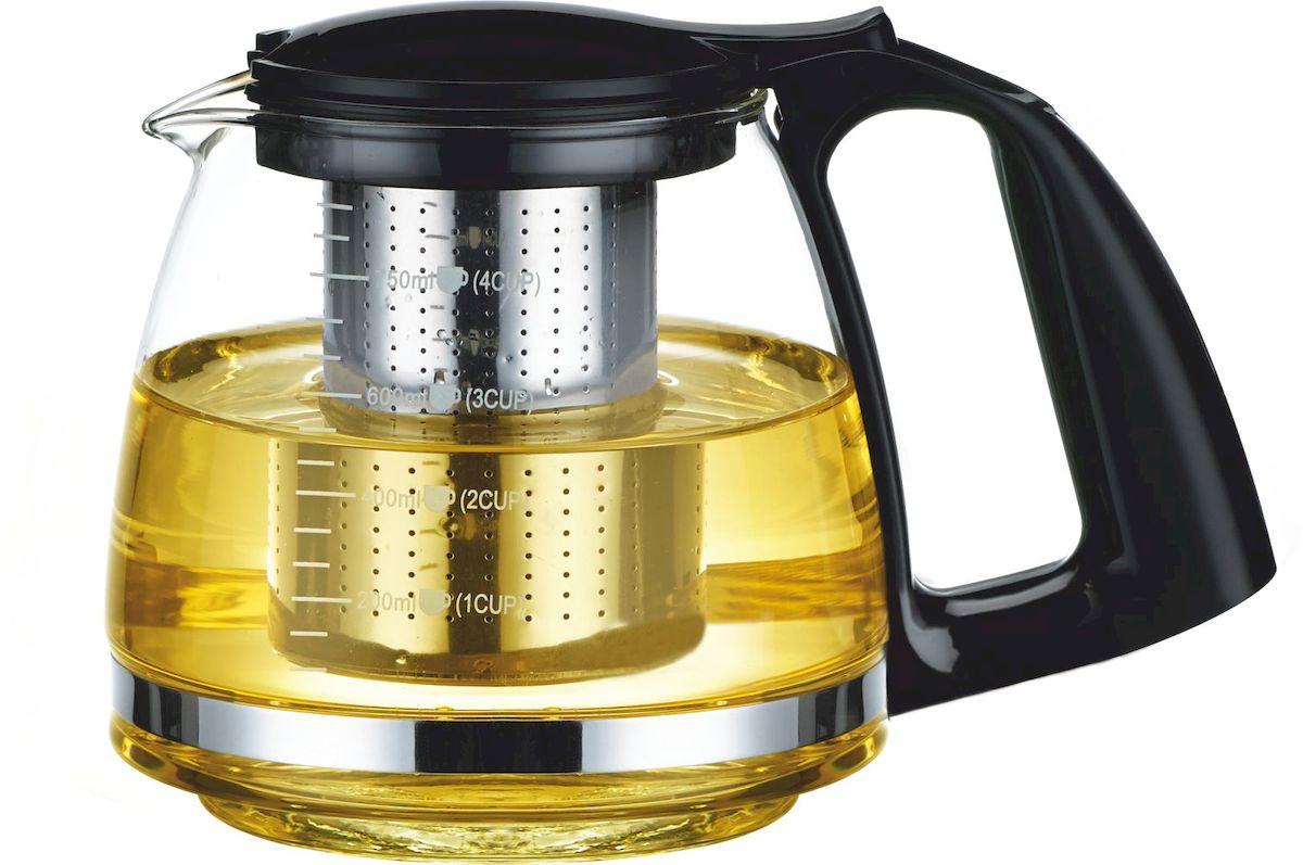 Заварочный чайник Calve, 0,75 лCL-7005Объем 750 мл Элегантный и практичный дизайн Идеально подходит для заваривания чая и трав Высококачественное жаростойкое стекло Разборная конструкция для удобства ухода Пластиковые части корпуса из пищевого пластика Фильтр из нержавеющей стали удерживает чаинки от попадания в чашки Жаропрочность стекла до 100° Советы по уходу и использованию: Чайник не предназначен для нагрева на плите или на открытом огне Не рекомендуется мыть чайник в посудомоечной машине Если на стекле появились трещины, прекратите использование чайника Не ставьте горячий чайник на холодную поверхность, используйте подставку под горячее