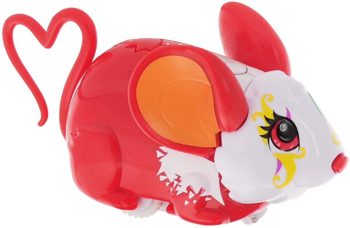 Amazing Zhus Интерактивная игрушка Мышка-циркач Зунза26303Amazing Zhus Мышка-циркач Зунза - это интерактивная игрушка, выполненная в виде цирковой мышки длиной 12 см. Игрушка имеет 3 игровых режима. При нажатии на кнопку на шее мышка начинает издавать забавные звуки каждые несколько секунд. При нажатии на кнопку на спине (режим исследования) мышка начинает изучать пространство, натыкаясь на препятствие, меняет направление и издает забавные звуки. При нажатии на нос - издает забавные звуки, а в режиме исследования нос используется как радар. В ассортименте есть множество цирковых аксессуаров для игры и фокусов. Очаровательная мышка понравится и детям, и взрослым! Для работы игрушки необходимы 2 батарейки типа ААА (товар комплектуется демонстрационными).