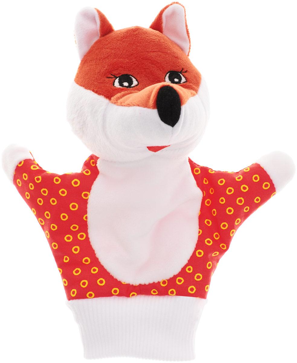 Мякиши Мягкая игрушка на руку Лисичка цвет красный121Мягкая игрушка на руку Мякиши Лисичка привлечет внимание малыша и не позволит ему скучать. Игрушка выполнена из высококачественной разнофактурной ткани и мягкого наполнителя, что позволяет ей быть абсолютно безопасной в игре. Забавная игрушка-рукавичка подходит для любого размера руки: и папиной ладошки, и маленькой детской ручки. В голове лисички спрятана погремушка. Надев игрушку на руку, вы и ваш малыш сможете разыграть различные сценки из любимых мультфильмов или собственные придуманные истории. Постановка домашнего спектакля - всегда незабываемое событие и для актеров и для зрителей. А для малышей, к тому же - важный шаг на пути к творческому самовыражению. Игрушка-рукавичка поможет укрепить мелкую моторику рук ребенка, развить его речевые способности и воображение.