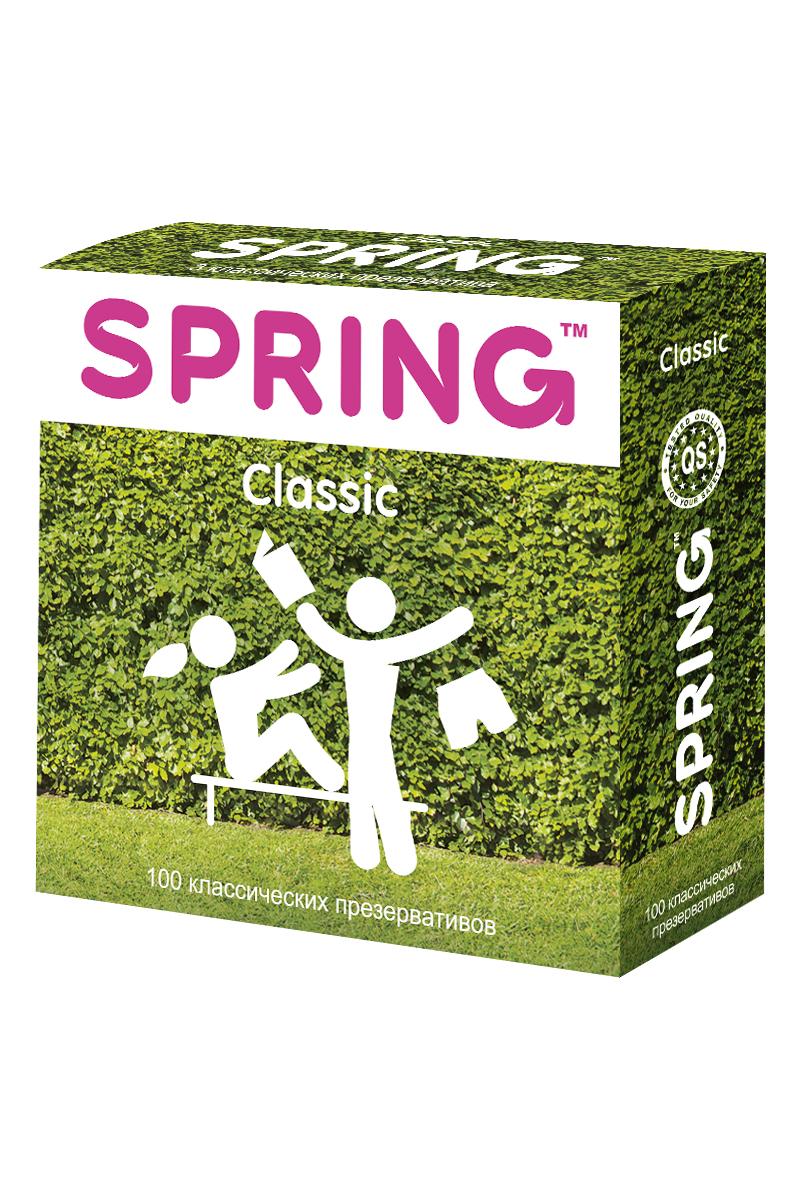 Презервативы SPRING™ Classcic, классические, 100 шт.