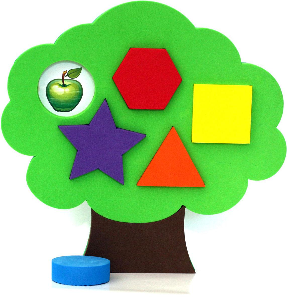 ElBasco Сортер Дерево04-003Благодаря головоломке-сортеру ElBasco Дерево ребенок познакомится с различными формами и цветами. Задача малыша – подобрать для определенной геометрической фигуры соответствующее ей отверстие. Классификация, или сортировка – это важный навык, которому должен научиться ребенок. Играя, малыш развивает моторику, логику и мышление, тактильное и цветовое восприятие, воображение.