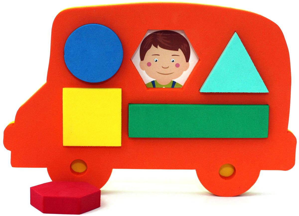 ElBasco Сортер Автобус04-004Благодаря головоломке-сортеру ElBasco Автобус ребенок познакомится с различными формами и цветами. Задача малыша – подобрать для определенной геометрической фигуры соответствующее ей отверстие. Классификация, или сортировка – это важный навык, которому должен научиться ребенок. Играя, малыш развивает моторику, логику и мышление, тактильное и цветовое восприятие, воображение.