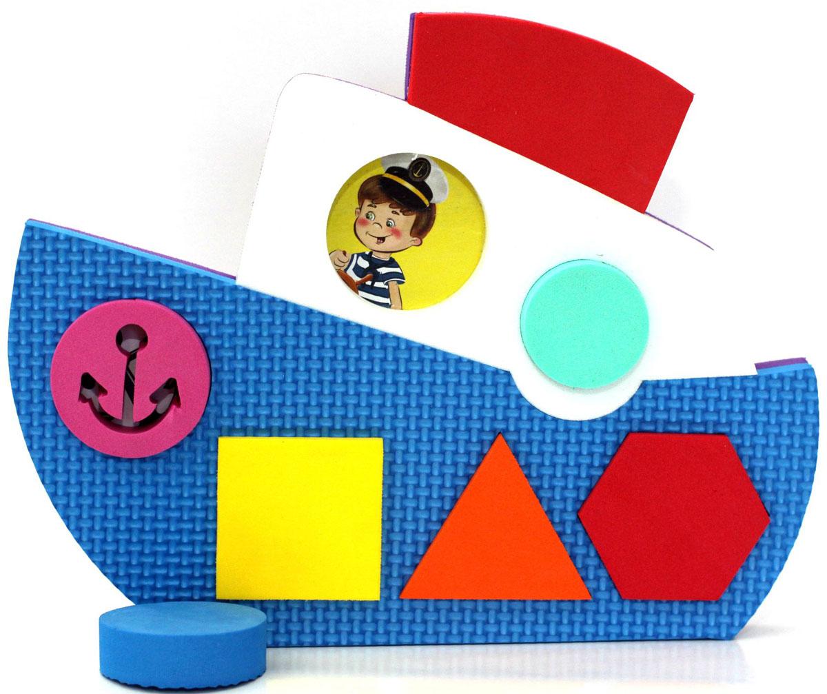 ElBasco Сортер Кораблик04-005Благодаря головоломке-сортеру ElBasco Кораблик ребенок познакомится с различными формами и цветами. Задача малыша – подобрать для определенной геометрической фигуры соответствующее ей отверстие. Классификация, или сортировка – это важный навык, которому должен научиться ребенок. Играя, малыш развивает моторику, логику и мышление, тактильное и цветовое восприятие, воображение.
