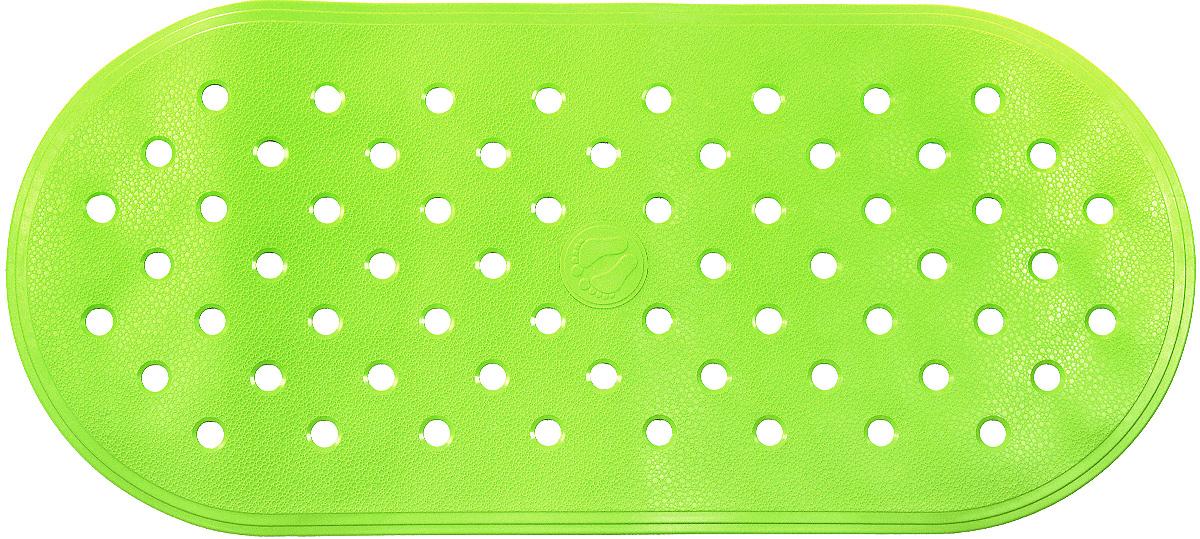 Коврик для ванной Ridder Action, противоскользящий, на присосках, цвет: светло-зеленый, 36 х 80 см167015Коврик для ванной Ridder Action, изготовленный из каучука с защитой от плесени и грибка, создает комфортное антискользящее покрытие в ванне. Крепится к поверхности при помощи присосок. Изделие удобно в использовании и легко моется теплой водой.