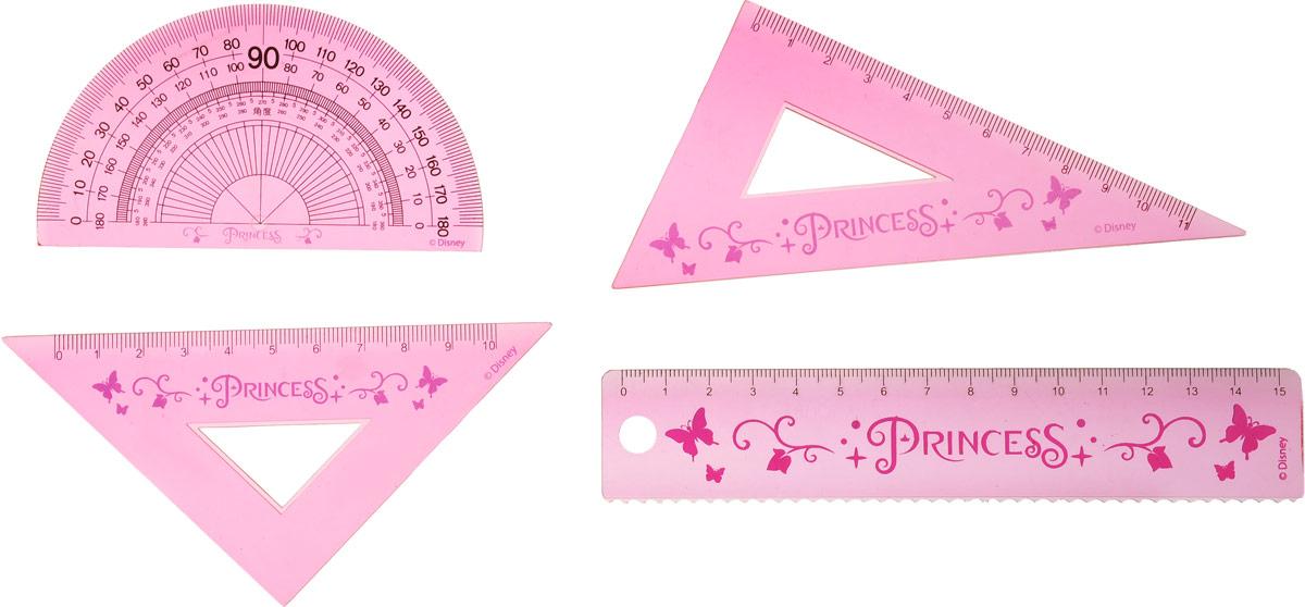Disney Princess Канцелярский набор цвет розовый 5 предметов