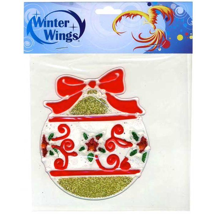 Наклейка декоративная Winter Wings