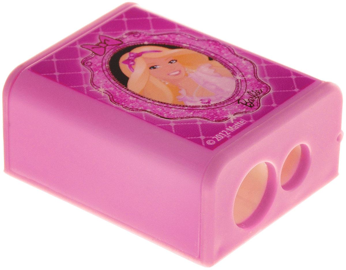 Barbie Точилка с двумя отверстиямиBRAB-US1-221-BL1Яркая точилка Barbie с двумя отверстиями для цветных и чернографитных карандашей диаметром 8 мм и 11,5 мм поднимет настроение любому, кто возьмет ее в руки. Карандаш затачивается легко и аккуратно, а опилки после заточки остаются в специальном контейнере. Точилка оформлена изображением очаровательной Барби.