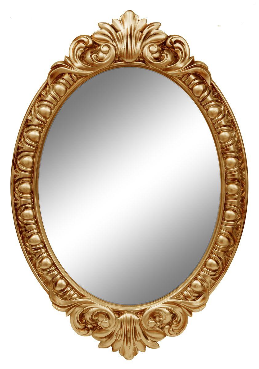 Зеркало VezzoLLi Венеция, цвет: золотой, 104 х 72 см4-75