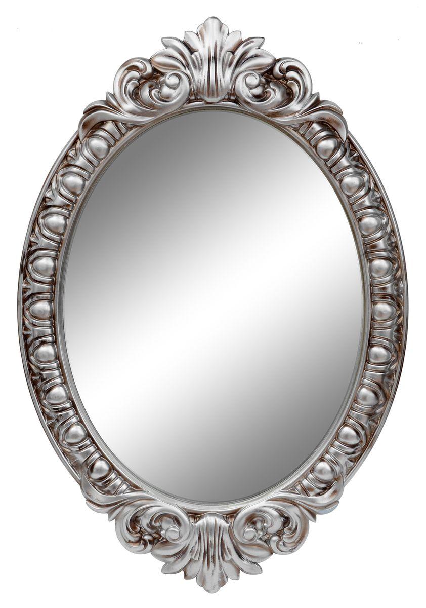 Зеркало VezzoLLi Венеция, цвет: серый металлик, 104 х 72 см4-77