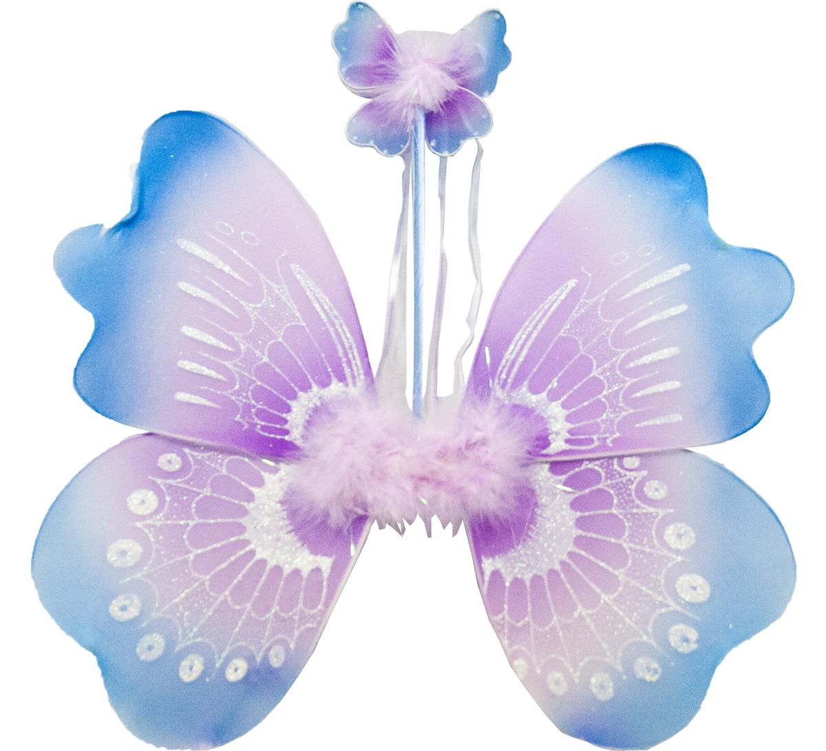 Карнавальный набор Lovemark Бабочка, 3 предмета294Карнавальный набор Бабочка (крылья бабочки, волшебная палочка, украш. на голову) Lovemark