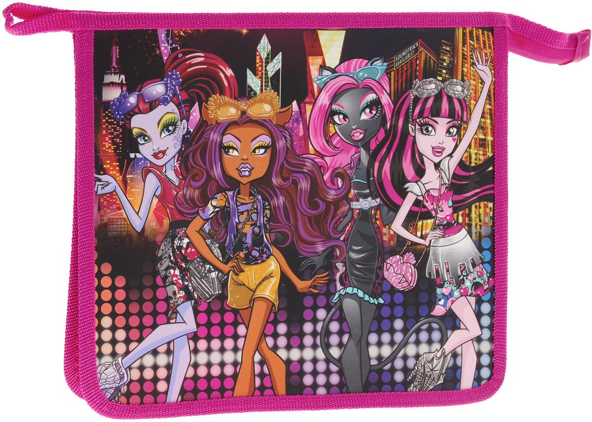 Centrum Папка для тетрадей Monster High87072Папка Centrum Monster High - это удобный и функциональный инструмент, который идеально подойдет для хранения различных бумаг формата А5, а также школьных тетрадей и письменных принадлежностей. Папка оформлена красочным изображениям героев мультфильма Monster High. Папка изготовлена из прочного полипропилена и надежно закрывается на застежку-молнию. Для удобства переноски папка оснащена петлей. Папка практична в использовании, надежно сохранит ваши бумаги и сбережет их от повреждений, пыли и влаги.