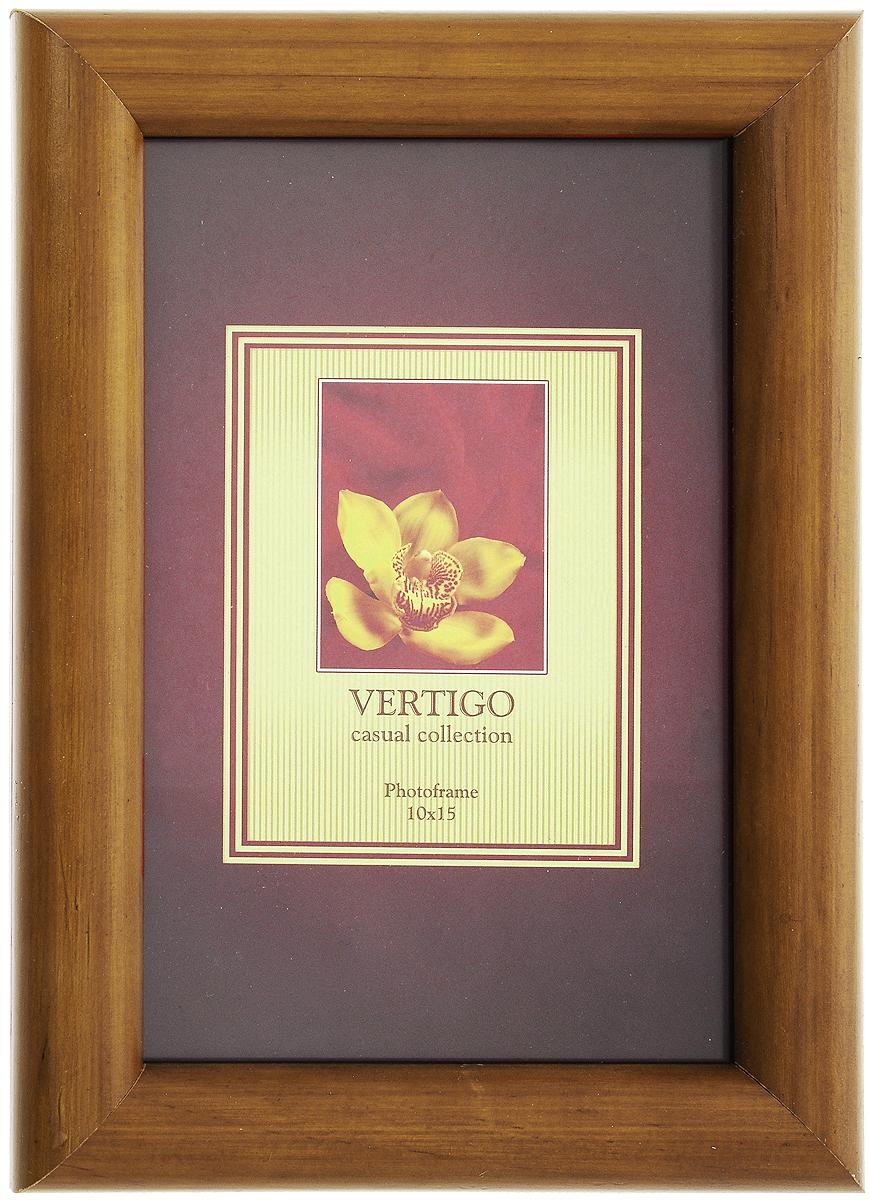 Фоторамка Vertigo Toscana, цвет: орех, 10 х 15 см12195 WF-022/194Фоторамка Vertigo Toscana выполнена из дерева и стекла, защищающего фотографию. Обратная сторона рамки оснащена специальной ножкой, благодаря которой ее можно поставить на стол или любое другое место в доме или офисе. Также изделие оснащено специальными отверстиями для подвешивания на стену. Такая фоторамка поможет вам оригинально и стильно дополнить интерьер помещения, а также позволит сохранить память о дорогих вам людях и интересных событиях вашей жизни.