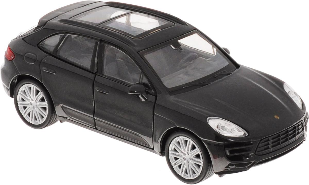 Welly Модель автомобиля Porsche Macan Turbo цвет черный43673_черныйМодель автомобиля Welly Porsche Macan Turbo - отличный подарок как ребенку, так и взрослому коллекционеру. Благодаря броской внешности, а также великолепной точности, с которой создатели этой модели масштабом 1:34 передали внешний вид настоящего автомобиля, модель станет подлинным украшением любой коллекции авто. Машина будет долго служить своему владельцу благодаря металлическому корпусу с элементами из пластика. Передние дверцы машины открываются, шины обеспечивают отличное сцепление с любой поверхностью пола. Машинка оснащена инерционным механизмом: достаточно немного отвести машинку назад, и затем отпустить, и она быстро поедет вперед. Модель автомобиля Welly Porsche Macan Turbo обязательно понравится вашему ребенку и станет достойным экспонатом любой коллекции.