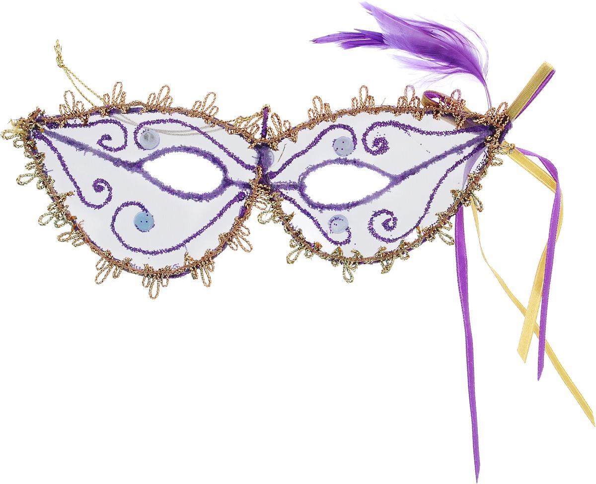 Украшение новогоднее подвесное Winter Wings Маска, длина 16 смN069889Новогоднее подвесное украшение Winter Wings Маска выполнено из пластика в виде маски и украшено стразами и перьями. С помощью специальной петельки украшение можно повесить в любом понравившемся вам месте. Но, конечно, удачнее всего оно будет смотреться на праздничной елке. Елочная игрушка - символ Нового года. Она несет в себе волшебство и красоту праздника. Создайте в своем доме атмосферу веселья и радости, украшая новогоднюю елку нарядными игрушками, которые будут из года в год накапливать теплоту воспоминаний.