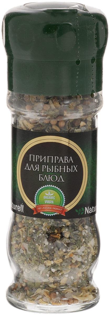 Naturell приправа для рыбных блюд в мельнице, 51 г6007Приправа для рыбных блюд Naturell в мельнице - это тщательно подобранные ингредиенты, которые придадут блюдам из рыбы богатый вкус и аромат.