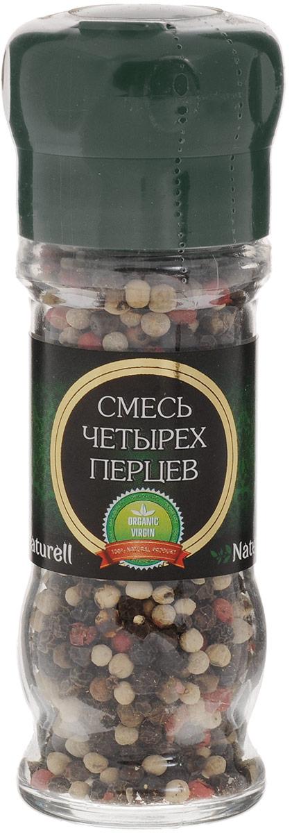 Naturell смесь четырех перцев в мельнице, 45 г6006Смесь четырех перцев Naturell в мельнице - это четыре вида перца, которые придадут различным блюдам богатый вкус и аромат.