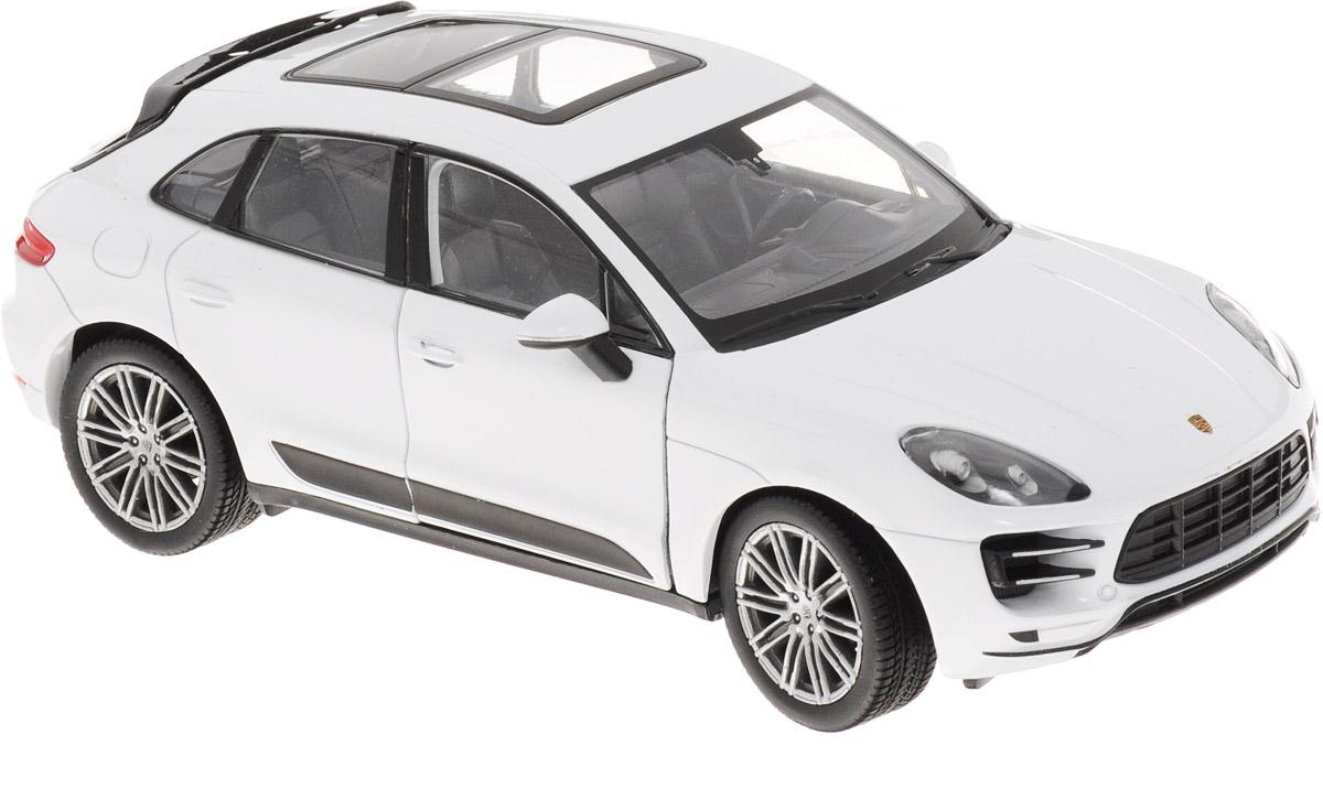 Welly Модель автомобиля Porsche Macan Turbo цвет белый масштаб 1:2424047Модель автомобиля Welly Porsche Macan Turbo - отличный подарок как ребенку, так и взрослому коллекционеру. Благодаря броской внешности, а также великолепной точности, с которой создатели этой модели масштабом 1:24 передали внешний вид настоящего автомобиля, модель станет подлинным украшением любой коллекции авто. Машина будет долго служить своему владельцу благодаря металлическому корпусу с элементами из пластика. Дверцы машины и багажник открываются, резиновые шины обеспечивают отличное сцепление с любой поверхностью пола. Такая модель станет замечательным подарком не только любителю автомобилей, но и человеку, ценящему оригинальность и изысканность, а качество исполнения представит такой подарок в самом лучшем свете.