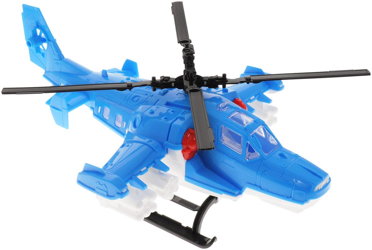Нордпласт Вертолет Полиция цвет голубойН-248_голубойВертолет Нордпласт Полиция обязательно понравится любому мальчику. Изделие имеет вращающиеся лопасти, а снизу - надежные полозья для посадки. Вертолет пригодится ребенку для игр в полицейскую погоню или в войнушку, так как вертолет имеет навесные ракеты и пулеметы. Игрушка выполнена из высококачественного пластика, полностью безопасного для здоровья малыша. Компания Нордпласт - крупнейший производитель детских пластиковых игрушек для детей от 1 до 9 лет. Все изделия, выпускаемые под торговой маркой Нордпласт имеют сертификат соответствия стандарту EN-71, выданный Британским отделением компании SGS, а так же Российские сертификаты соответствия и гигиенические сертификаты.