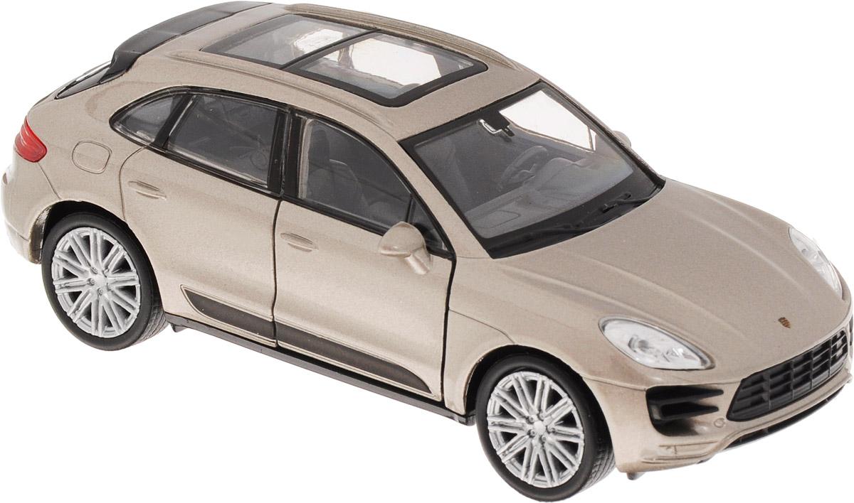 Welly Модель автомобиля Porsche Macan Turbo цвет серебристый металлик43673_серебристый металликМодель автомобиля Welly Porsche Macan Turbo - отличный подарок как ребенку, так и взрослому коллекционеру. Благодаря броской внешности, а также великолепной точности, с которой создатели этой модели масштабом 1:34 передали внешний вид настоящего автомобиля, модель станет подлинным украшением любой коллекции авто. Машина будет долго служить своему владельцу благодаря металлическому корпусу с элементами из пластика. Дверцы машины открываются, резиновые шины обеспечивают отличное сцепление с любой поверхностью пола. Такая модель станет замечательным подарком не только любителю автомобилей, но и человеку, ценящему оригинальность и изысканность, а качество исполнения представит такой подарок в самом лучшем свете.