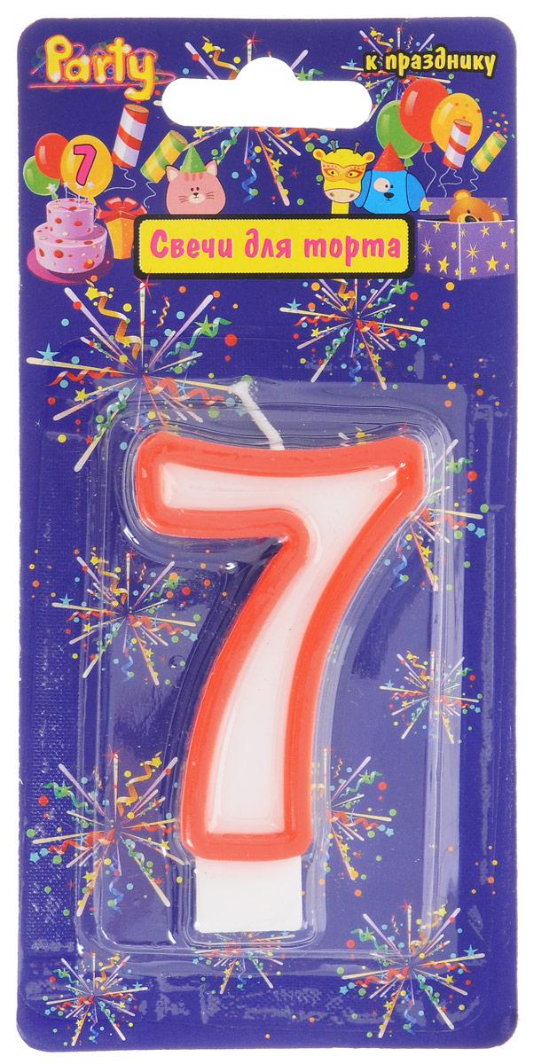 Action! Свеча-цифра для торта 7 лет цвет красныйAPI0318-7_красныйСвеча-цифра для торта Action! выполнена в виде цифры 7 из белого парафина с красным контуром по краям. Свеча-цифра создает неповторимую атмосферу праздника и прекрасно вписывается в любой интерьер. Свеча для торта - отличный способ порадовать человека. Не используйте свечи вблизи легковоспламеняющихся предметов, материалов, жидкостей. Не оставляйте горящие свечи без внимания, особенно в присутствии детей и животных.