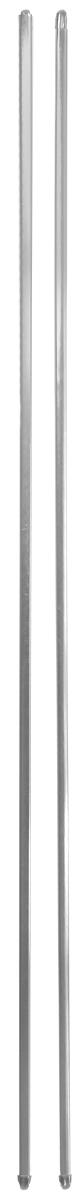 Штанга однорядная Эскар, металлическая, телескопическая, цвет: хром, длина 100-160 см, 2 шт9290000100Витражная штанга Эскар - это не только аксессуар для штор, но и элемент декора. Изделие выполнено из металла. Держатели штанг вкручиваются в раму в предварительно рассверленное отверстие. В комплект входят: 2 штанги, 6 крючков для крепления. Оригинальная и стильная штанга дополнит интерьер любой комнаты. Длина карниза: 100-160 см.