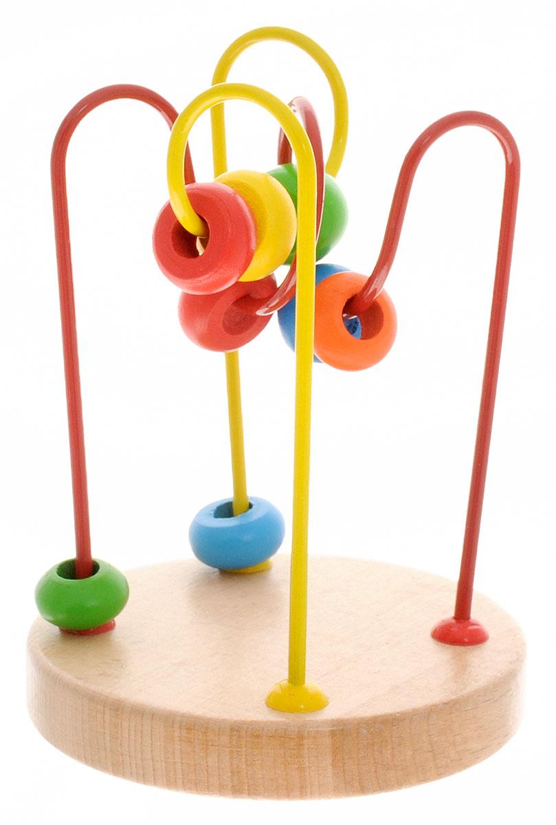 Мир деревянных игрушек Лабиринт № 4Д192Развивающая игрушка Лабиринт с бусинками №4 от российского производителя Мир Деревянной Игрушки легко привлечет внимание вашего ребенка необычной формой и яркими красками. Игра поможет выучить формы и цвета, развить пространственное мышление, логику, воображение, координацию, внимание. Уважаемые клиенты! Обращаем ваше внимание на ассортимент в дизайне товара. Поставка возможна в одном из вариантов нижеприведенных дизайнов, в зависимости от наличия на складе.