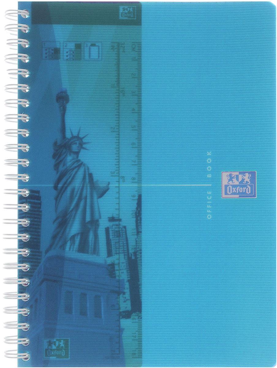 Oxford Тетрадь My Colours 90 листов в клетку формат А5 цвет голубой