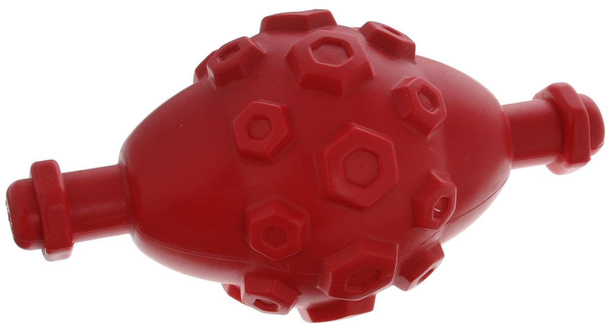 Игрушка для собак Triol Мега-Гантель, с пищалкой, 23 х 11,5 х 11,5 смTPR22Игрушка Triol Мега-Гантель, выполненная из термопластичной резины, оснащена пищалкой. Изделие станет идеальным решением для четвероногих обладателей крепких зубов и мощных челюстей. Игрушка Triol Мега-Гантель не тонет в воде и отлично подойдет для активной игры.