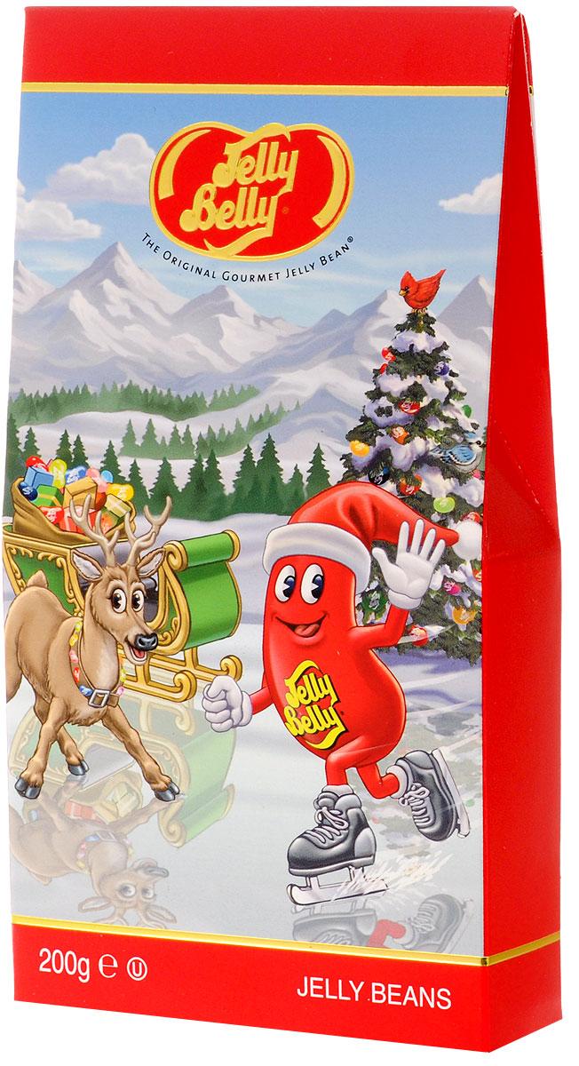 Jelly belly Рождественское жевательное драже, 20 вкусов, 200 г71567001490Рождественское жевательное драже Jelly belly - это 20 невероятно сочных и популярных вкусов. Универсальный вариант подарка, подходящий для любого возраста. Удобно ставится на полку, привлекая яркой праздничной картинкой.