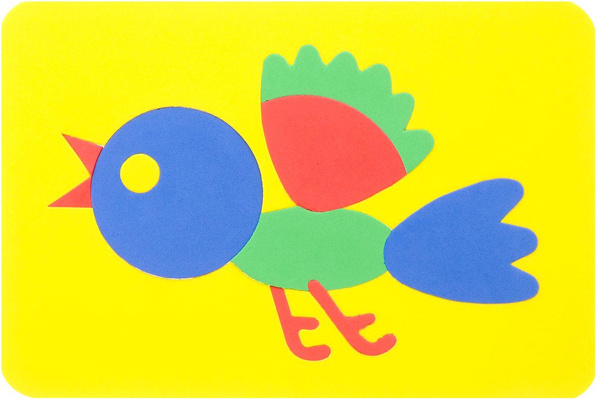 Август Пазл для малышей Птичка27-2012_желтыйПазл для малышей Август Птичка выполнен из мягкого полимера, который дает юному конструктору новые удивительные возможности в игре: детали пазла гнутся, но не ломаются, их всегда можно состыковать. Пазл представляет собой рамку, в которой из разноцветных элементов собирается птичка. Ваш ребенок сможет собирать его и в ванной. Элементы можно намочить, благодаря чему они будут хорошо прилипать к стене в ванной комнате. Мягкие пазлы способствуют развитию моторики пальцев и рук ребенка, развивают координацию движений, обостряют внимание, улучшают память, помогают научиться воспринимать детали, как часть целого, развивают фантазию и пространственное мышление.