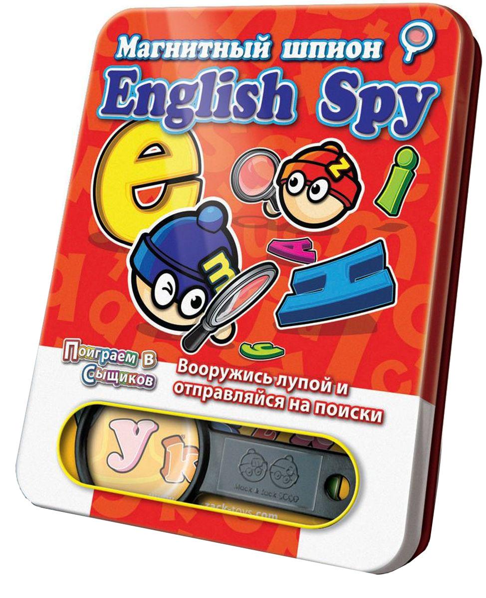 Mack & Zack Обучающая игра English SpySP_ABCНовая игра MACK&ZACK English Spy из серии Шпионские игры - это быстрая дорожная игра, основанная на внимательности и скорости реакции. English Spy - единственная обучающая игра серии. Вам нужно находить не предметы, а буквы английского алфавита. Таким образом, игра развивает не только внимательность, но и знание английских букв. Игровой процесс очень прост. У вас есть игровое поле, на котором изображено много-много различных предметов. Вы крутите волчок, и он показывает вам на один из предметов. Теперь вы должны найти эти предметы на поле за минимальное количество времени. Все игроки по очереди называют получившиеся результаты. Кто назвал правильный результат первым, признается победителем.