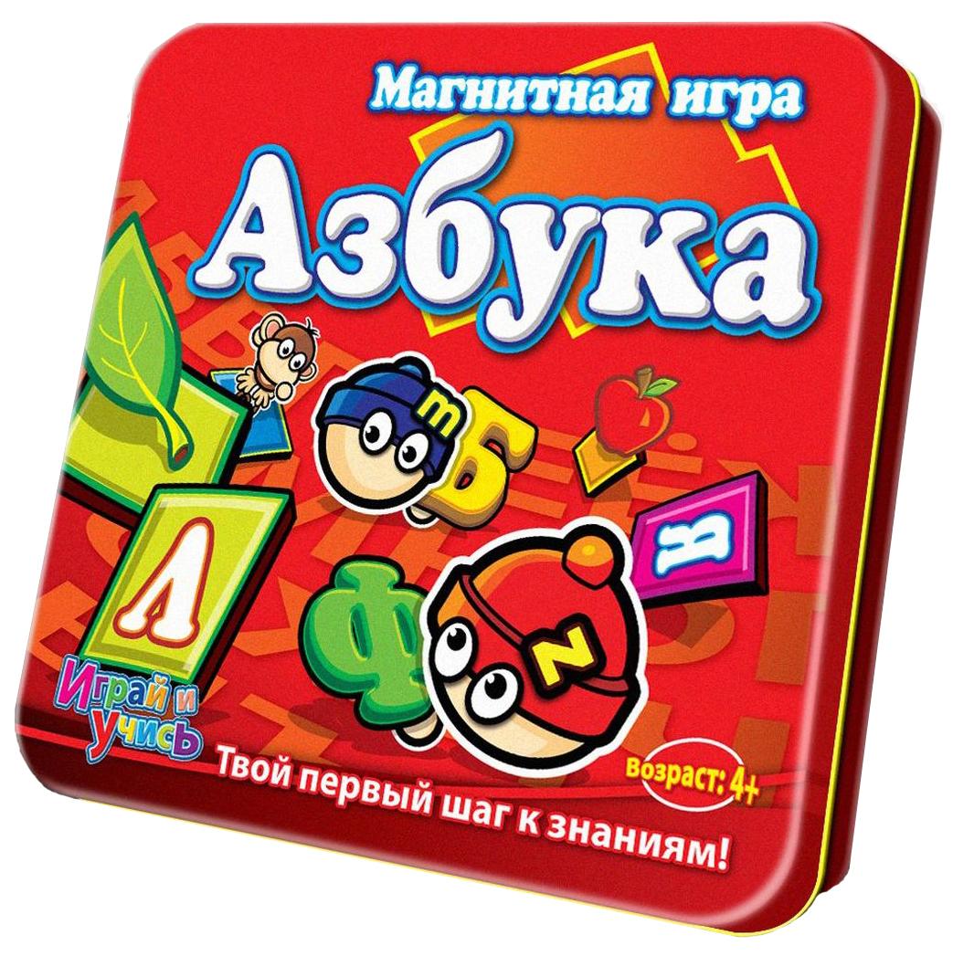 Mack & Zack Обучающая игра АзбукаLP-ABCМагнитная Игра Азбука из серии Играй и учись - это занимательный обучающий игровой набор, предназначенный для детей младшего возраста. С помощью данного набора они смогут научиться распознавать буквы русского алфавита. На каждой карточке с буквой нарисован предмет, чтобы было понятно, как произносить букву.