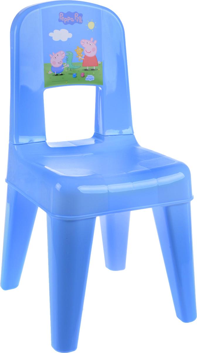 Табурет детский Little Angel Свинка Пеппа. Я расту, со спинкой, цвет: голубой, зеленый, розовый, 35 х 30 х 58,2 смLA4512РРГЛТабурет Little Angel Свинка Пеппа. Я расту разработан специально для детей. Изготовлен из безопасного нетоксичного полипропилена, оснащен спинкой. Закругленные углы сиденья и ножек обеспечивают безопасность малыша. Поверхность сиденья нескользящая, благодаря чему игры и обучение будут более комфортными. На ножках имеются противоскользящие резиновые накладки. Рекомендован для детей от 2 до 6 лет.