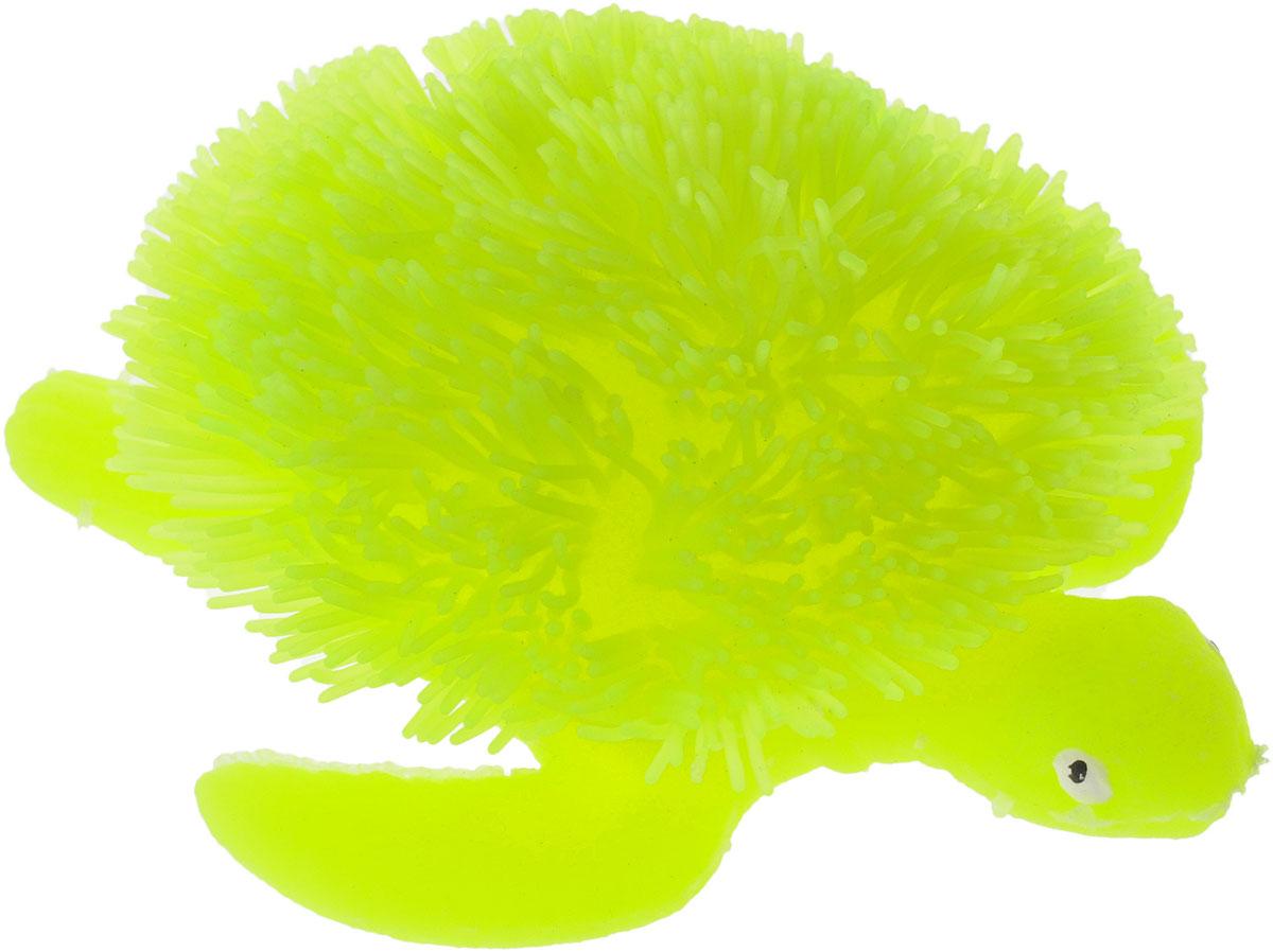 HGL Фигурка Черепаха с подсветкой цвет салатовыйSV11193_салатовыйФигурка HGL Черепаха - это мягкая резиновая игрушка в виде черепашки с резиновым ворсом. Взяв игрушку в руки, расстаться с ней просто невозможно! Её не только приятно держать в руках: если перекинуть игрушку из руки в руку, она начнёт мигать цветными огоньками. Данная игрушка рассчитана на широкую целевую аудиторию - как детей от пяти лет, так и взрослых. Черепаха обязательно станет самым любимым забавным сувениром. Игрушка работает от 3 незаменяемых батареек AG3 (LR41).