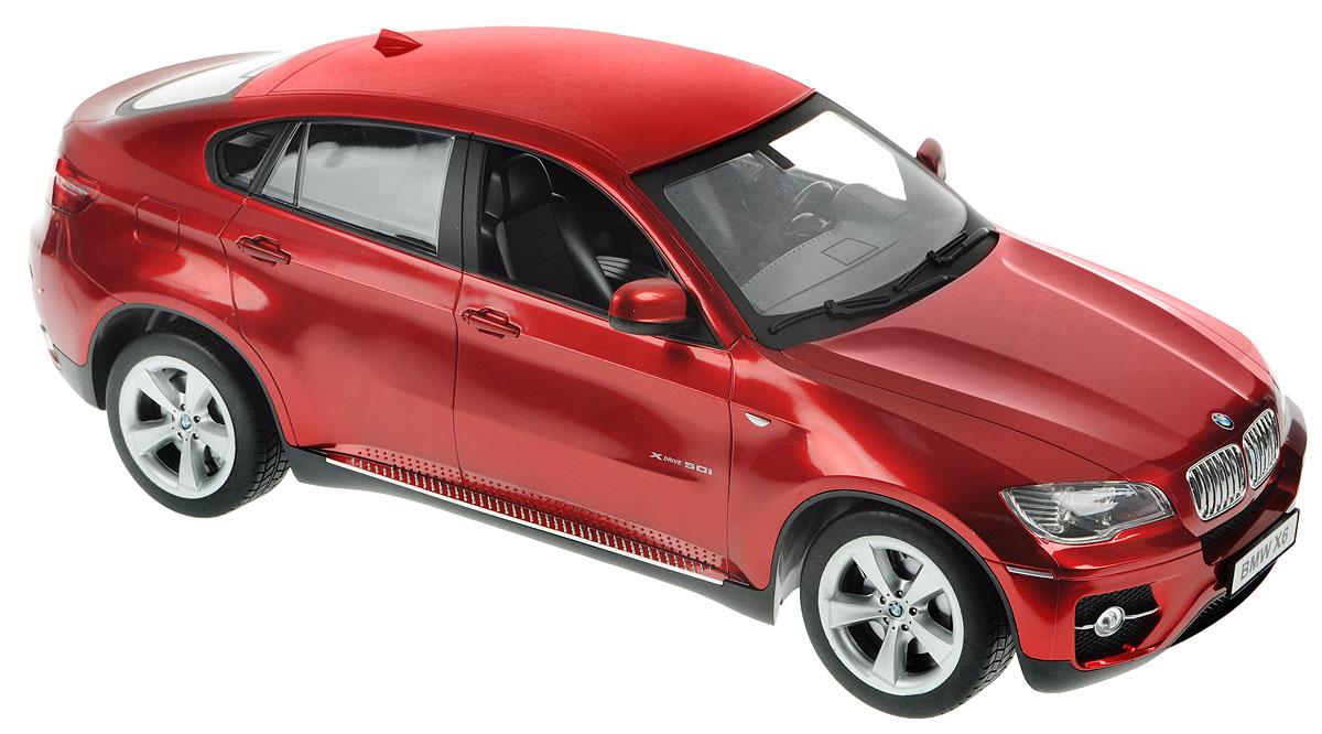 Double Eagle Радиоуправляемая модель BMW X6 цвет бордовый615003_бордовыйРадиоуправляемая модель Double Eagle BMW X6 станет отличным подарком любому мальчику! Все дети хотят иметь в наборе своих игрушек ослепительные, невероятные и крутые автомобили на радиоуправлении. Тем более, если это автомобиль известной марки с проработкой всех деталей, удивляющий приятным качеством и видом. Одной из таких моделей является автомобиль на радиоуправлении Double Eagle BMW X6. Это точная копия настоящего авто в масштабе 1:10. Возможные движения: вперед, назад, вправо, влево, остановка. При включении раздается звук запуска двигателя. Имеются световые эффекты. Пульт управления работает на частоте 27 MHz. С помощью пульта можно регулировать скорость модели (имитация коробки передач). Машина работает от сменного аккумулятора 7,2V (в комплекте). Для работы пульта управления необходимы 2 батарейки типа АА напряжением 1,5V (не входят в комплект).