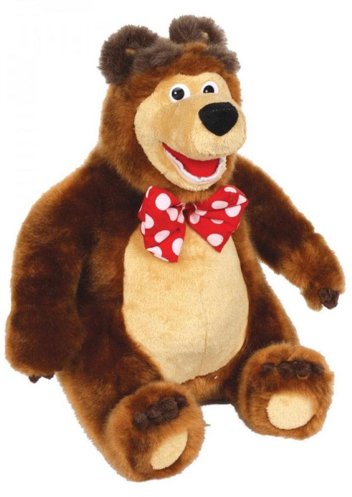 Мульти-Пульти Мягкая озвученная игрушка Медведь 25 смV91097/25Современные мягкие игрушки отличаются от своих предшественников наличием в них разнообразных функций. Например, этот медведь, напоминающий персонаж популярного мультфильма Маша и медведь, умеет рассказывать сказки, при этом забавно качает головой. Но помимо этого Мишка может стать главным героем для интереснейшей игры или инсценировки мультика, ведь он точная копия героя. Мягкая озвученная игрушка Мульти-Пульти Медведь поразит ребенка функцией рассказывания трех детских сказок (Маша и медведь, Три медведя, Мужик и Медведь). Для активации сказок необходимо нажать на лапку Мишки. Громкость звучания сказки можно при желании регулировать. Также имеется пауза. Мишка выполнен в коричневом цвете с бантиком в горошек на шее. Игрушка изготовлена из гипоаллергенных материалов высокого качества, поэтому можно не переживать за здоровье ребенка во время игры с ней. Рекомендуется докупить 3 батарейки напряжением 1,5V типа АА (товар комплектуется демонстрационными).
