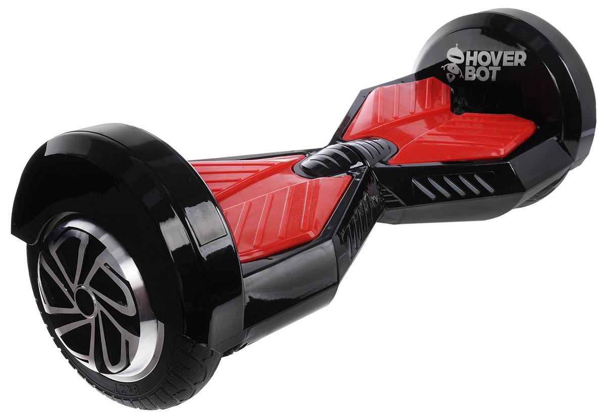 Гироскутер Hoverbot B-1, цвет: черный, красныйGB1BRDГироскутер Hoverbot B-1 можно использовать для развлечения, в качестве спортивного снаряда, а также в качестве самого настоящего транспортного средства. Эффективный принцип, заложенный в основу этого устройства, обеспечивает максимальную простоту в эксплуатации и отличную управляемость, ведь встроенный гироскоп реагирует на малейшее движение тела, облегчая управление. Платформы для ног имеют отличное сцепление с обувью. Эффектные светодиодные фонари спереди устройства осветят мелкие трещины и препятствия на дороге в темное время суток, а также сделают вас заметнее для других пешеходов или автомобилистов. Технические характеристики: Возможная дистанция: 10-15 км. Максимальная скорость: 12 км/ч. Аккумулятор: Lithium 36V 4,4 AH. Размер колеса: 8 (200 мм). Мощность мотора: 2 х 350 W. Максимальная нагрузка: 120 кг. Время заряда/сеть: 120 мин / 220 В. Вес нетто: 10,5 кг. Вес брутто: 13 кг. Влагозащита: IP54. Условия...