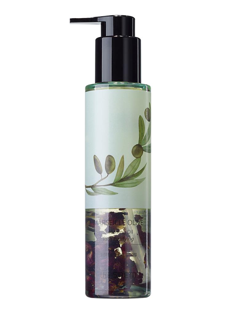 The Saem Масло для очищения лица с экстрактом оливы MARSEILLE OLIVE Cleansing Oil-Rich Purifying, 140 млСМ1287Питательное гидрофильное масло на основе 100% масла оливы. Особый состав с целебными лепестками дамасской розы предназначен для сухой кожи, склонной к шелушению. Отлично убирает глубокие загрязнения и водостойкую косметику, препятствует закупорке пор и тонизирует. Эффективно удерживает влагу в коже, уменьшает выраженность мимических морщин, придает коже гладкость и освежает цвет лица. Обьем: 140 мл