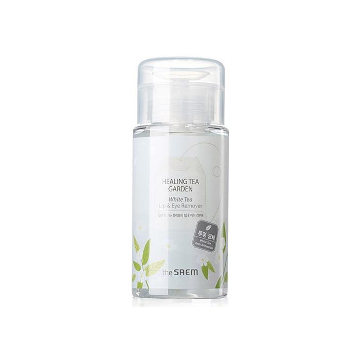 The Saem Жидкость для снятия макияжа с глаз и губ Healing Tea Garden White Tea Lip  eyes Remover, 150 мл
