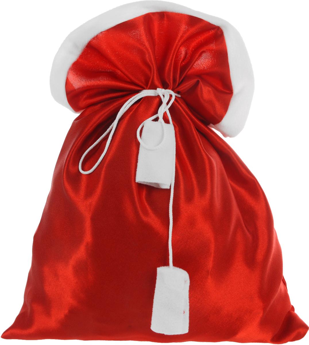 Мешок для подарков Eva, цвет: красный, 37 см х 50 смА101Мешок Eva, выполненный из полиэстера, предназначен для подарков. Мешок на завязках красного цвета, расшитый текстильными лентами, предназначен для подарков. Такой аксессуар особенно актуален в преддверии новогодних праздников. Откройте для себя удивительный мир сказок и грез. Почувствуйте волшебные минуты ожидания праздника, создайте новогоднее настроение вашим дорогим и близким.