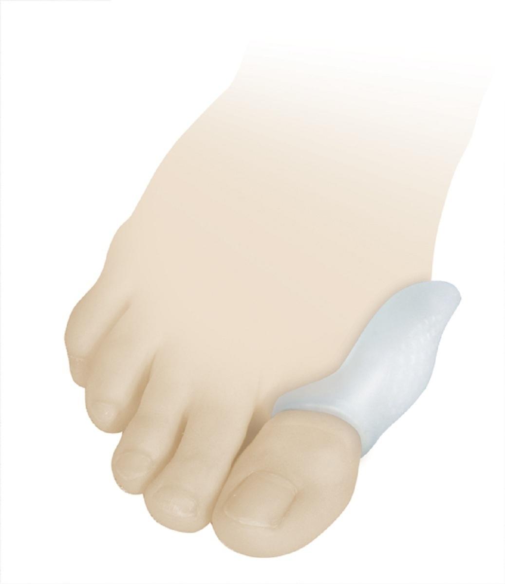 Luomma Бурсопротектор силиконовый Lum901Lum901Размер универсальный. состав: 100% медицинский силикон. Защищает от давления и образования потертостей суставной сумки первого плюснефалангового сустава. В упаковке 2 шт.