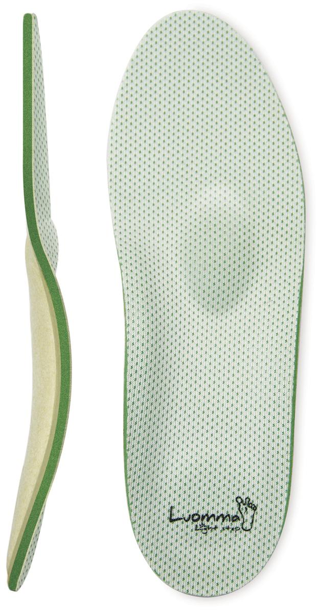 Luomma Стельки ортопедические каркасные Control (контроль запаха) Lum209 . Размер 38