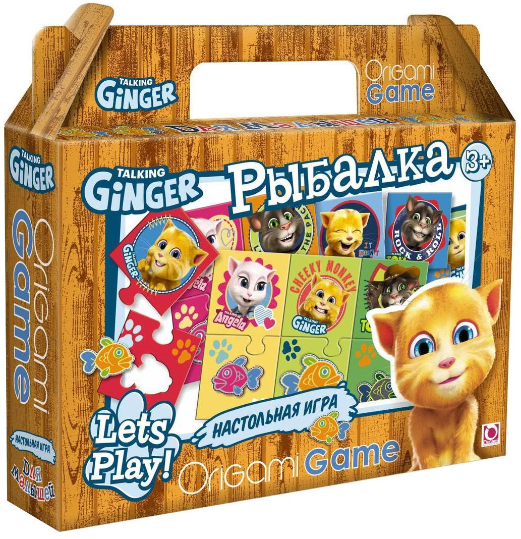 Оригами Обучающая игра Рыбалка00980Настольная игра «Рыбалка» поможет ребенку развить ассоциативные способности. В набор входят парные цветные карточки: герои мультфильма и разноцветные рыбки. Сначала нужно сопоставить карточки одинакового цвета. Затем найти рыбку определенного размера, соответствующую цвету каждого героя. Все карточки снабжены пазловыми замками, поэтому ребенок не сможет совершить ошибку.