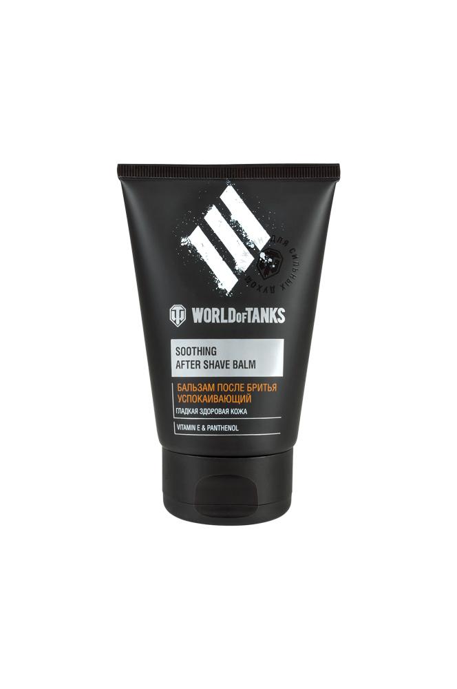 World of Tanks Бальзам после бритья Успокаивающий, 100 гB108-201Бальзам успокаивает кожу, а также снимает раздражение после бритья. Бисаболол и Бетаин успокаивают раздражённую кожу, уменьшают имеющиеся покраснения, шелушения. Витамины А и Е участвуют в регуляции синтеза белков, обеспечивая блеск, гладкость и эластичность кожи. Витамин F поддерживает целостность липидного барьера, предотвращает трансэпидермальную потерю влаги. Экстракт женьшеня выполняет функцию тонизирования и питания кожи.