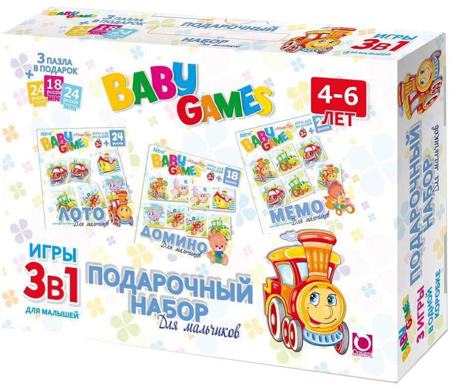 Оригами Обучающая игра 3 в 1 для мальчиков00280Лото, Мемо, Домино. 3 игры в одной коробке. Отличный подарок непоседливому ребёнку и возможность тренировать усидчивость в форме нескучных игр . Любимые игры с весёлыми картинками.