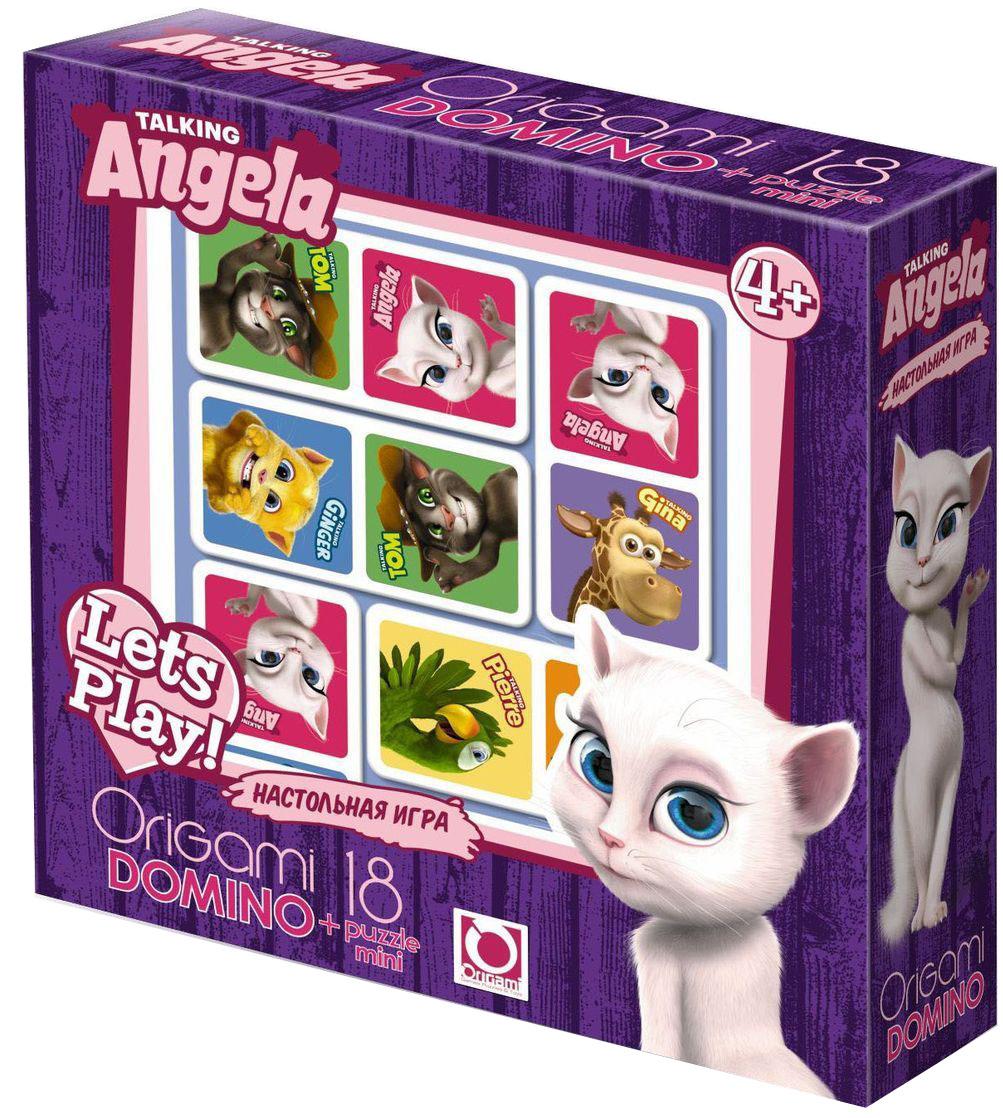 Оригами Обучающая игра Домино01009Настольная игра Домино - увлекательная и очень интересная игра, которая учит ребёнка думать, логически размышлять и анализировать. Игра направлена на развитие внимания, образного восприятия и зрительной памяти. А Анджела и ее весёлые друзья сделают игру яркой и занимательной.
