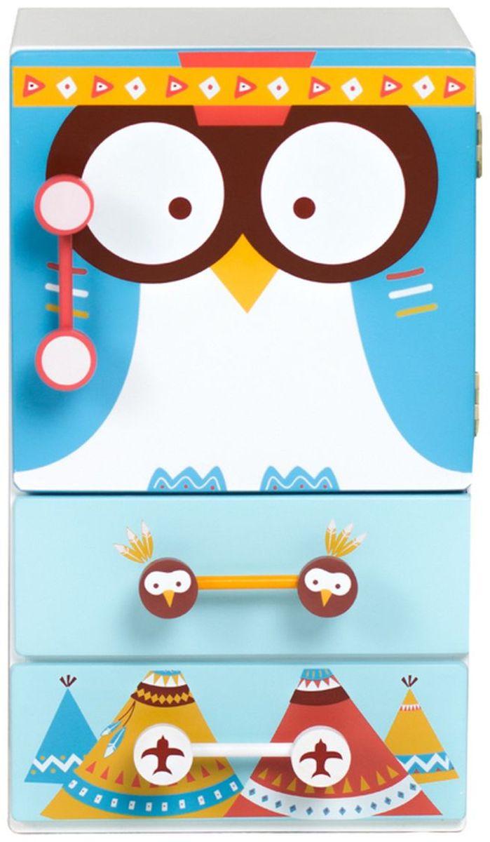Kids4Kids Игрушечный холодильник Модный поваренок#1114Главный элемент детской кухни для маленького поваренка - яркий и необычный холодильник из дерева. Запоминающийся дизайн с совами понравится детям и взрослым. В комплект входят 25 различных имитаций продуктов питания, поэтому вам и вашему малышу будет интересно играть. Фрукты, овощи, эскимо, яйца, тосты с джемом и многое другое. Дверца на магните плавно закрывается, заботясь о безопасности маленьких пальчиков. Две выдвигающиеся полки надежно сохранят все аксессуары для игры. Необычный дизайн подойдет и мальчикам, и девочкам. Размеры (ВхШхГ), см: 48х26х2Игрушка отлично впишется в интерьер детской станет любимым развлечением детей. Такая насыщенная игра превосходно развивает воображение и логику, положительно сказывается на координации движений и зрительной координации, тренирует память и внимание. Игрушка изготовлена из высококачественного дерева, что очень важно при выборе детских товаров.